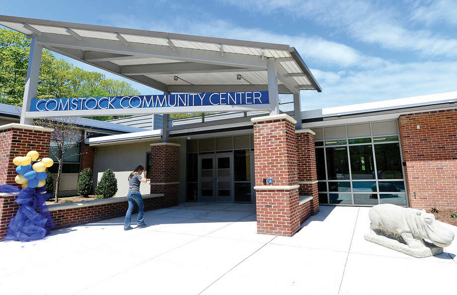 The newly renovated Comstock Community Center in Wilton.