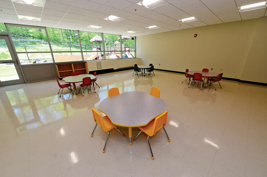 The Toddler Room in the newly renovated Comstock Community Center in Wilton.