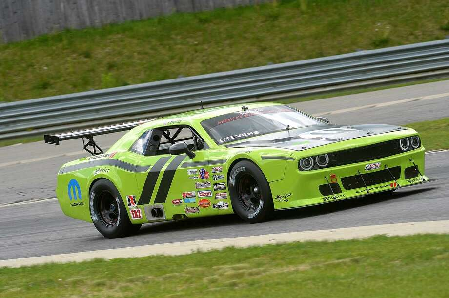 Hour Photo/Alex von Kleydorff Lime Rock's Traditional Memorial Day Weekend Season Opener Featuring the Trans Am Series