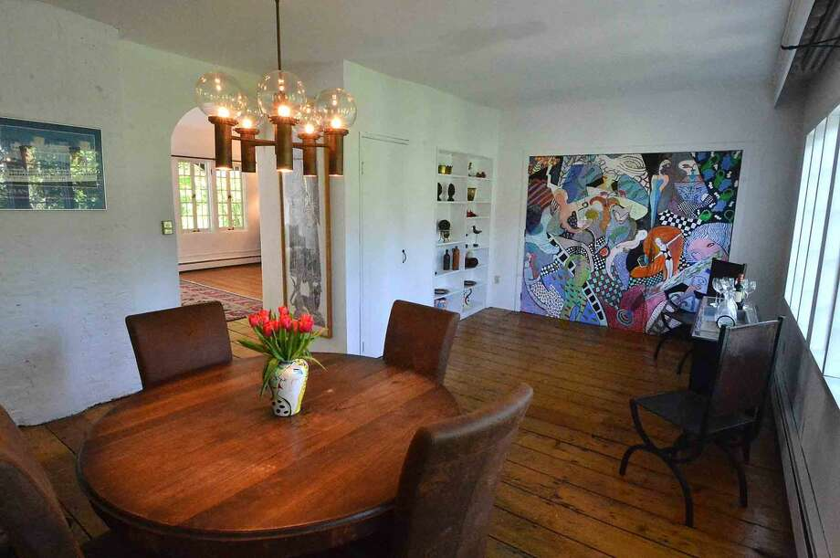 Interior of the property at 19 Jacob St. A former artists home and studio in Rowayton in Norwalk Conn. May 18 2016