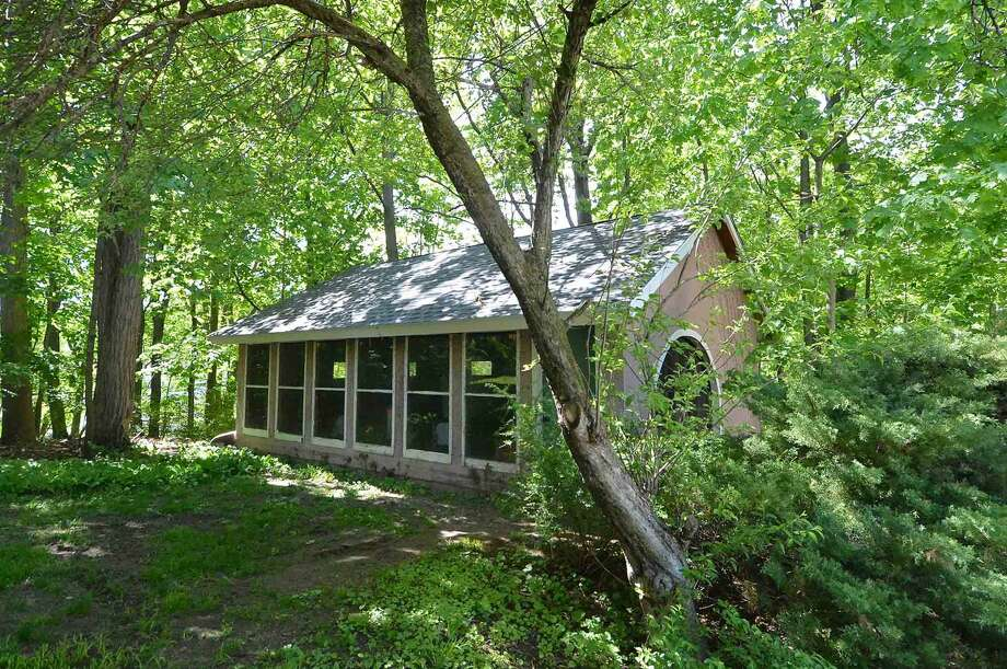The Studio on the property at 19 Jacob St. A former artists home and studio in Rowayton in Norwalk Conn. May 18 2016