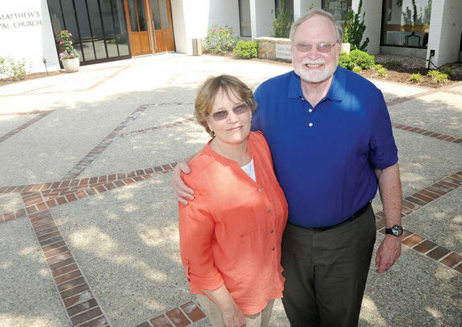 Becky and Steve Hudspeth of Wilton.