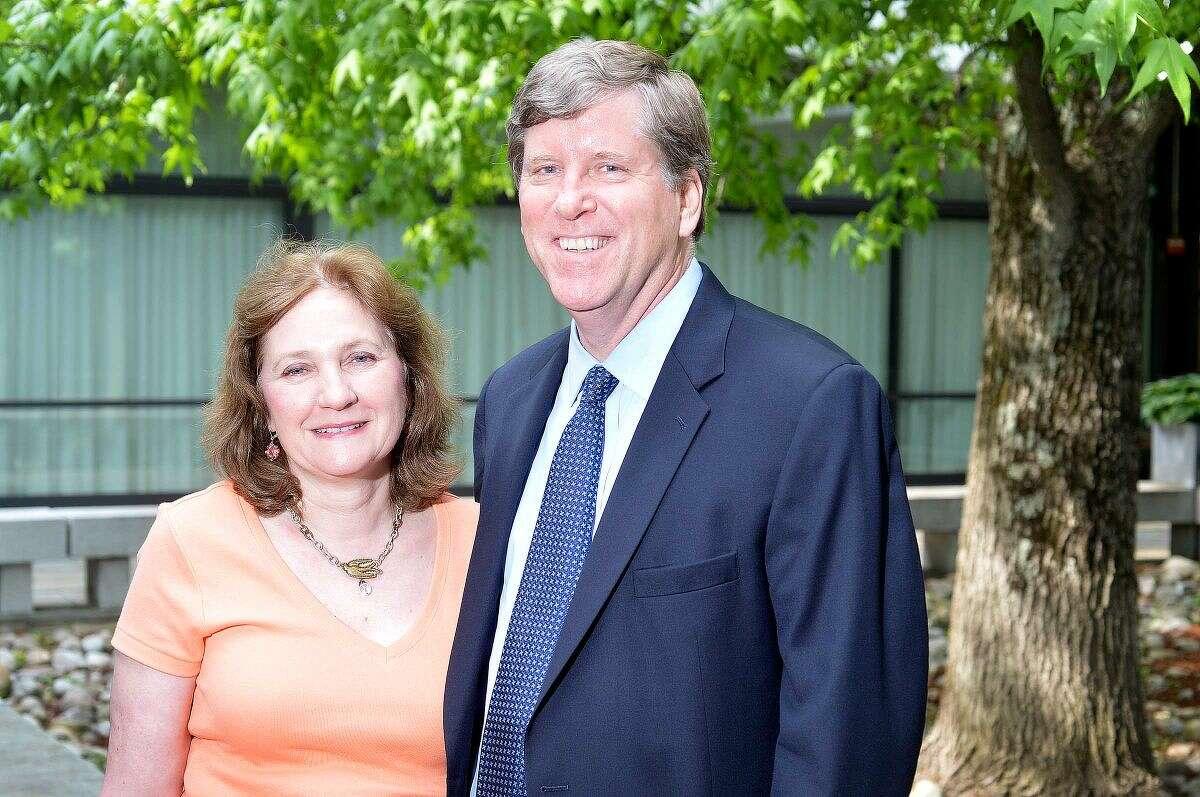 Carol and Michael Kaelin of Wilton.
