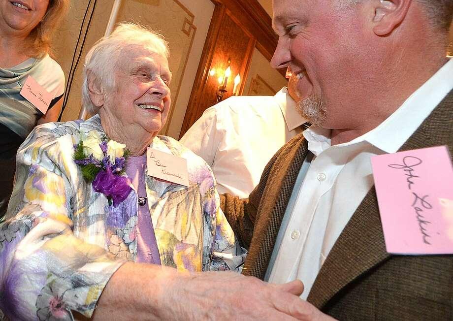 Hour Photo/Alex von Kleydorff Retirement party for Dr. Beatrice Krawiecki