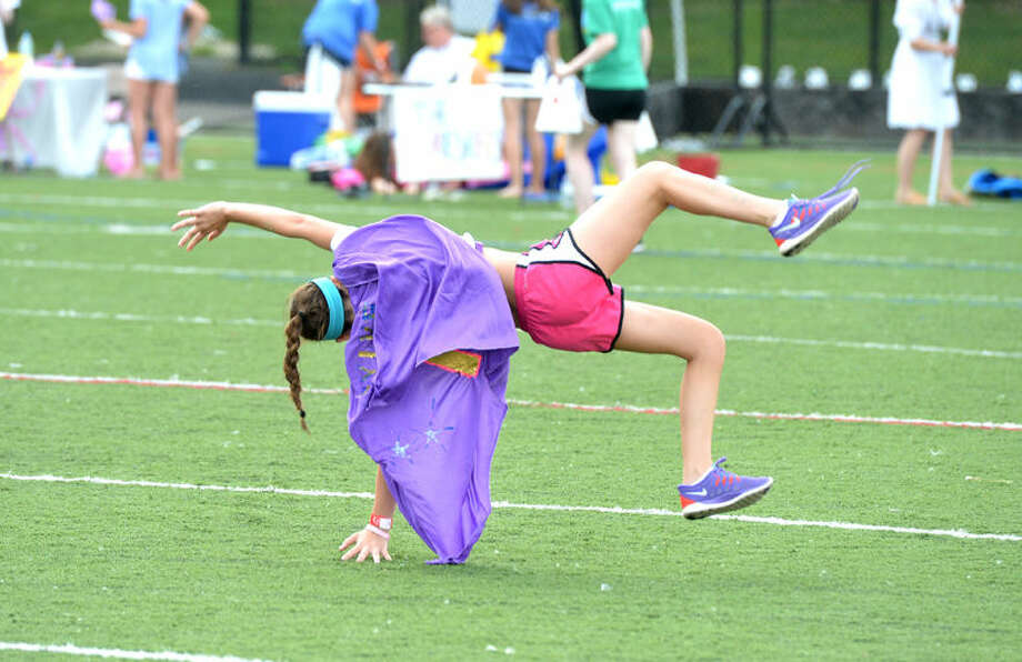 Hour Photo/Alex von Kleydorff. Wilton's 18th annual Relay for Life