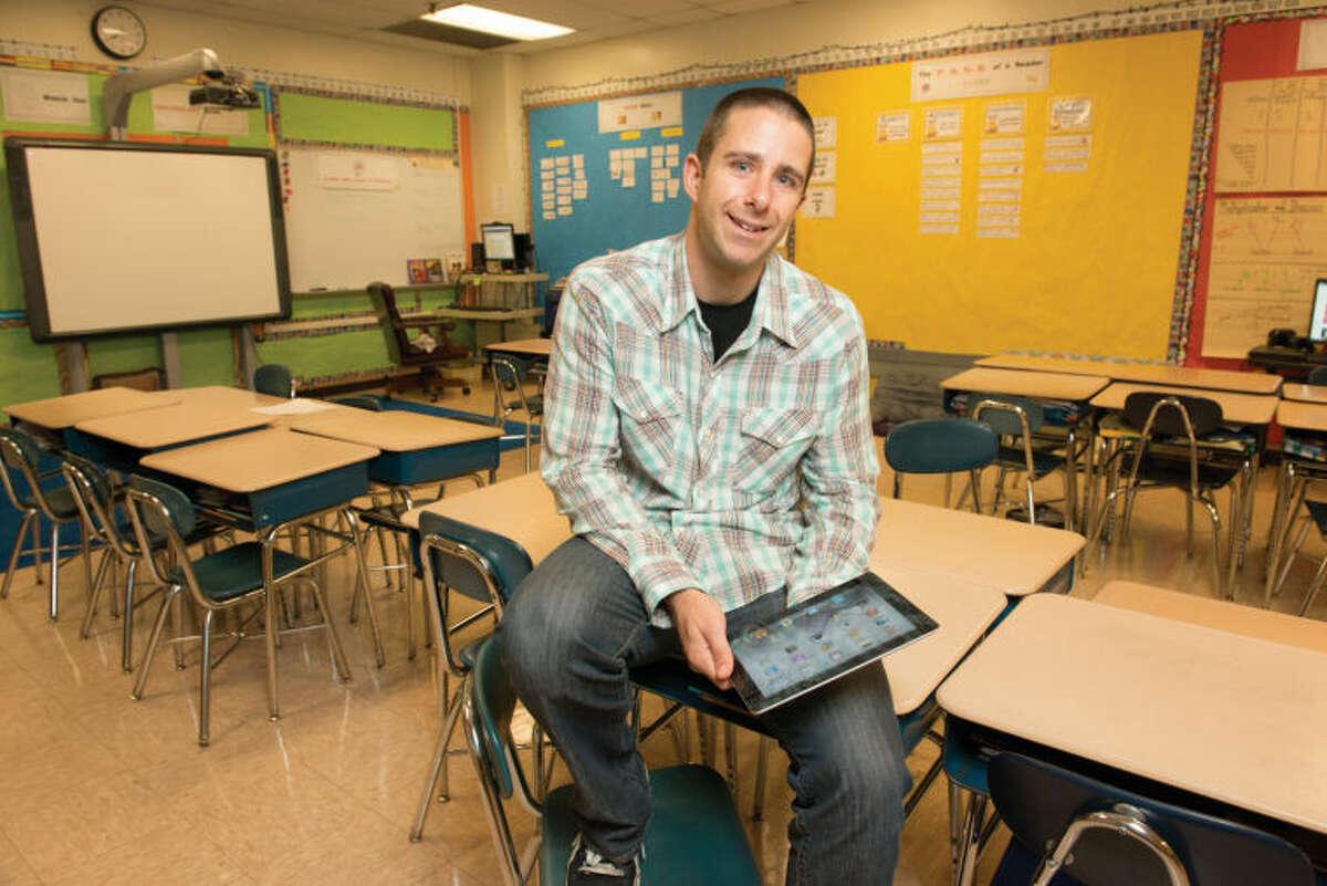 Stamford Public Schools has named Springdale Elementary School teacher Jimmy Sapia as Stamford Teacher of the Year.