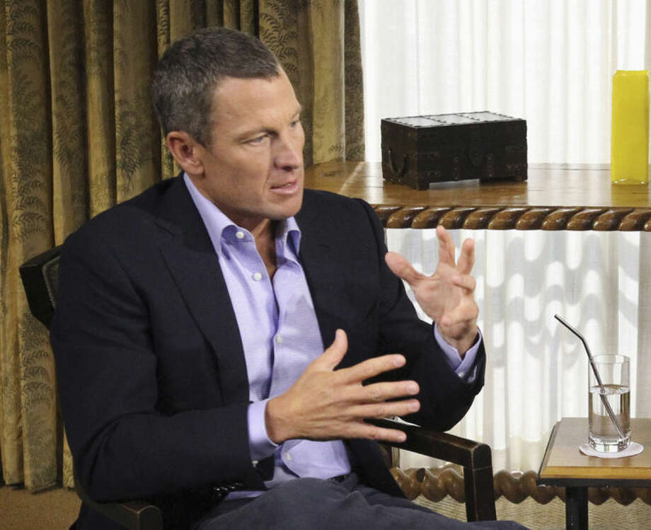 "FILE - In this Monday, Jan. 14, 2013, file photo provided by Harpo Studios Inc., Lance Armstrong appears on a taping for the show ""Oprah and Lance Armstrong: The Worldwide Exclusive"" in Austin, Texas. Armstrong admitted that he led a doping scheme but peppered his apology with excuses rather than contrition. (AP Photo/Harpo Studios Inc.,, George Burns, File)"