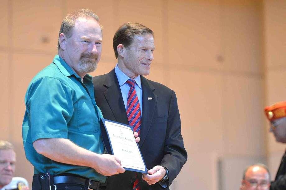 Veterans Hall of Honor Dedication Ceremony at Norwalk City Hall in Norwalk Conn. May 22 2016