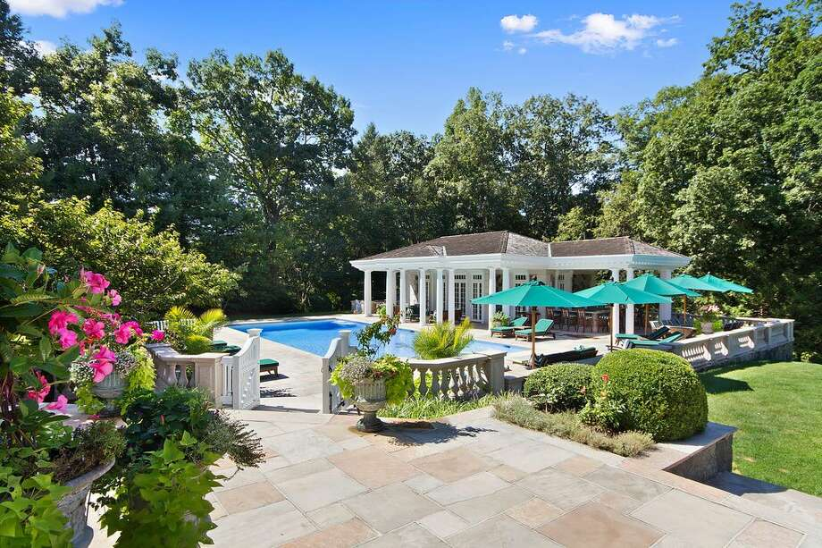20 Andrews Farm Rd, Greenwich, CT 06831 - 6 beds 10.5 baths 9,744 sqft. Features: Pool house and cabana, old-fashioned ice cream parlor, a golf-simulator room, a movie theater and a wine cellar