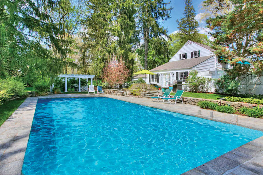 43 Red Coat Rd, Westport, CT 06880 -7 beds 7 baths 6,078 sqft.Features: Heated pool, three fireplaces, bluestone patio