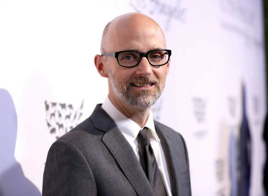 Singer-songwriter Moby.