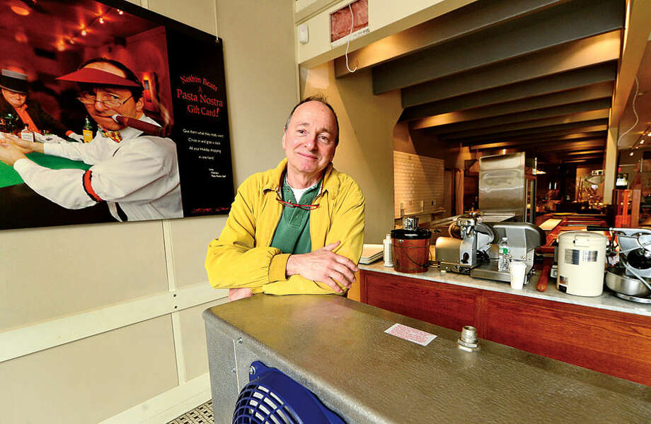 Hour photo / Erik Trautmann Joe Bruno closes his South Norwalk restaurant, Pasta Nostra, after 30 years and opening a new restaurant down the street to called, Bruculino.
