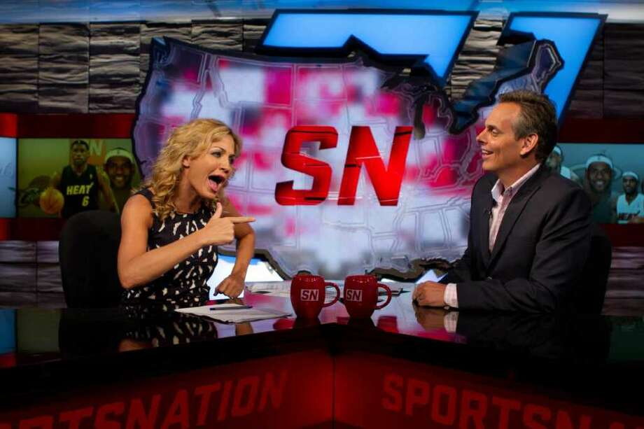 Most mentions of a name during a televised broadcast - Seems like an unusual category for a world record, but here we are. On October 5, 2009, former SportsNation co-hosts Michelle Beadle and Colin Cowherd set the record for the most mentions of a name during a televised broadcast by saying Brett Favre's name 203 times while on air at ESPN's studios in Bristol.
