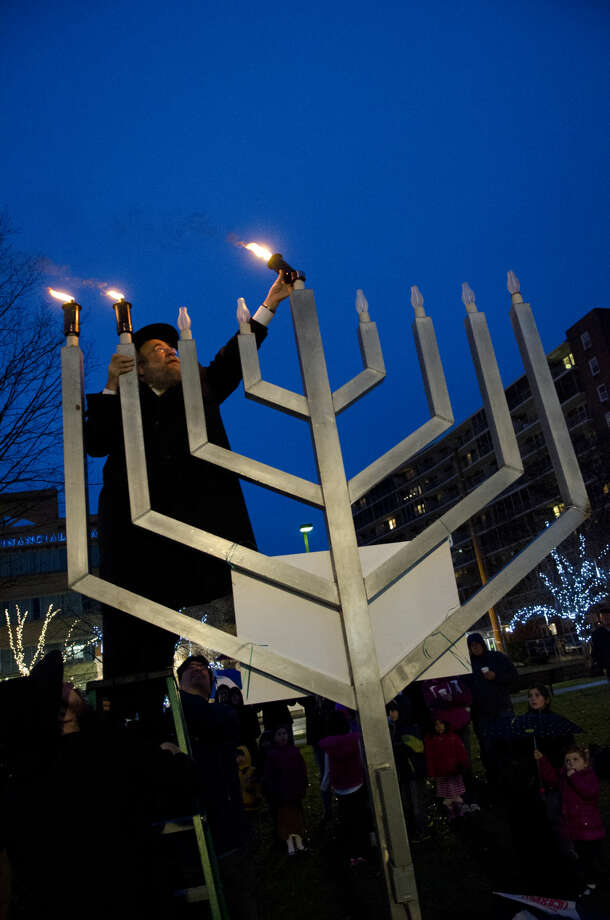 Largest display of menorahs-On December 8, 2013, NCSY (formerly the National Conference of Synagogue Youth) reached the record for the largest display of lit menorahs, totaling 1,000 menorahs at the Stamford Hilton Hotel.