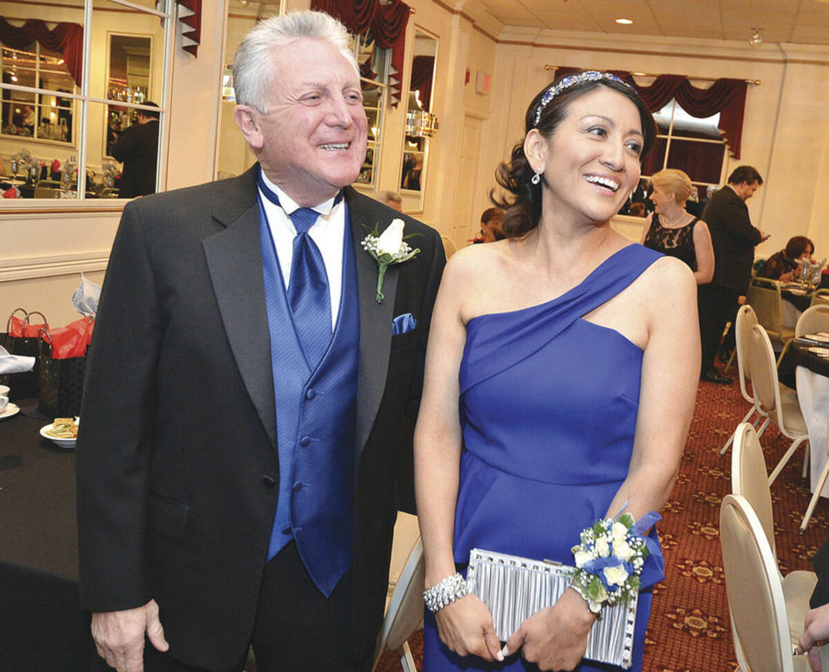 Hour file photo/Alex von Kleydorff Harry Rilling and Lucia Medower at The Mayors Ball in January 2014.