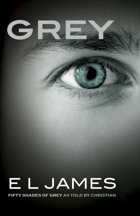 """This image provided by Vintage Books shows the cover of the new book, """"Grey,"""" the fourth novel in E L James' multimillion-selling """"Fifty Shades of Grey"""" erotic series. Told from the point of view of billionaire Christian Grey, whose explicit romance with young Anastasia Steele became an international obsession, the book is scheduled to be released June 18, 2015. (Vintage Books via AP)"""