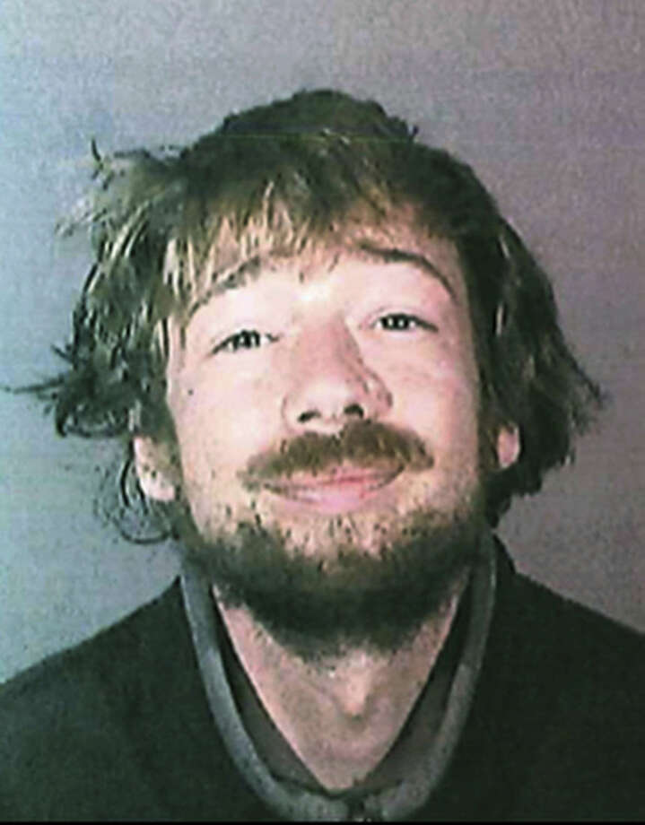 This Dec. 2014 booking photo provided by County of Los Angeles Probation Department shows Stuart Lynn Dunn. Dunn, sentenced for stalking actress Mila Kunis escaped from a mental health facility over the weekend and was being sought by authorities in Southern California on Monday. (County of Los Angeles Probation Department via AP)