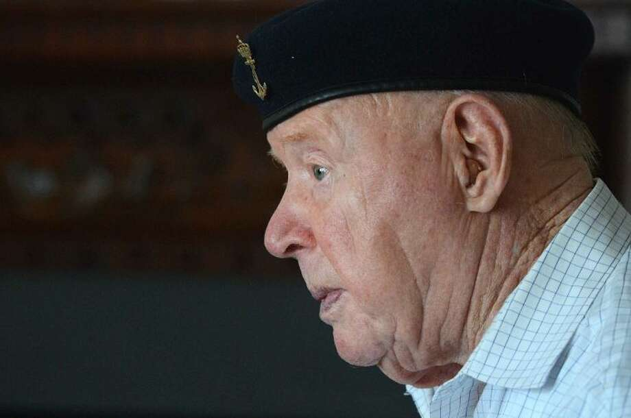 Trygve Hansen talks about his service with The Royal Norwegian Navy during Word War II. Hansen will serve as the grand marshal of this year's Memorial Day Parade in Wilton.