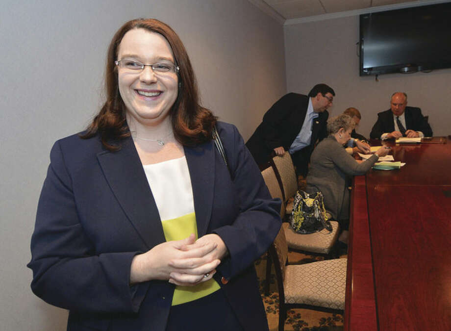 Hour photo / Alex von KleydorffEmily D. Wilson just nominated for the Republican 142nd District Representative.