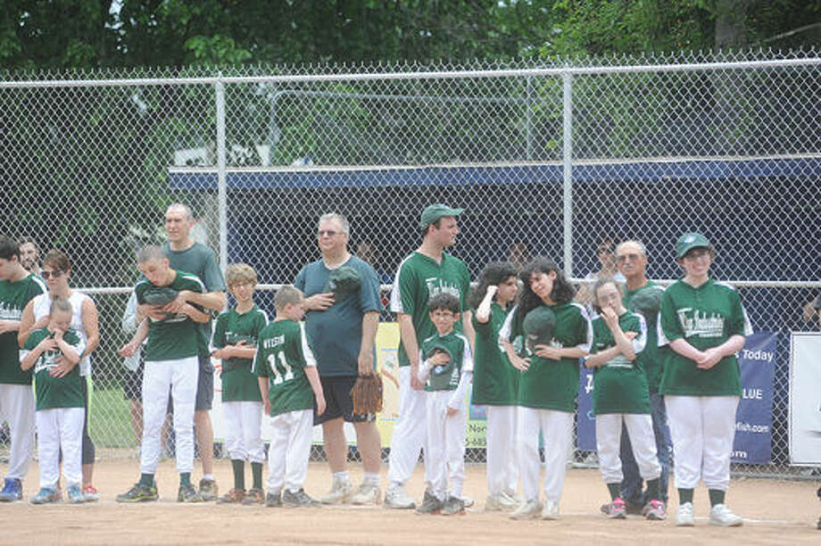 King Industries Champions Sunday for the Norwalk Little League Challenger Division game at the Broadriver field in Norwalk. Hour photo/Matthew Vinci