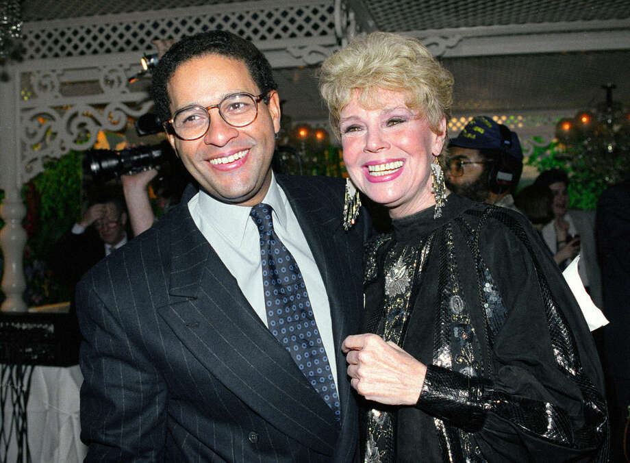 "FILE - In this Jan. 13, 1992 file photo, NBC's ""Today"" show co-anchor Bryant Gumbel, left, and former member of the morning television show Betsy Palmer pose at the 40th anniversary party for the show in New York City. Palmer, the actress whose long film, stage and television career began in 1951 in the early days of live television and who later found a new generation of fans in her role as Mrs. Vorhees in the cult film classic Friday the 13th, has died at the age of 88, it was announced today by her longtime manager Brad Lemack. Lemack reports that Palmer died of natural causes on May 29, 2015, at a hospice care center near her Danbury, Conn., home.(AP Photo/Mark Lennihan, File)"
