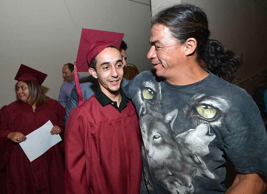 Hour Photo/Alex von Kleydorff Norwalk Adult Education Graduation