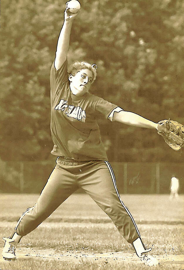 Andrea Ehrlinger would've probably been Central Catholic's starting softball pitcher in 1991 and '92. But after the school closed in 1990, she went to Brien McMahon and won 32 games the next two years.