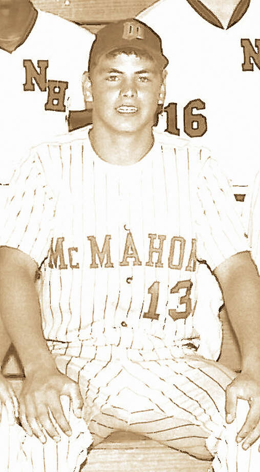 Ken Geriak went from Central Catholic to Brien McMahon his senior year after CCHS closed and led the Senators and the city in batting with a .457 average.