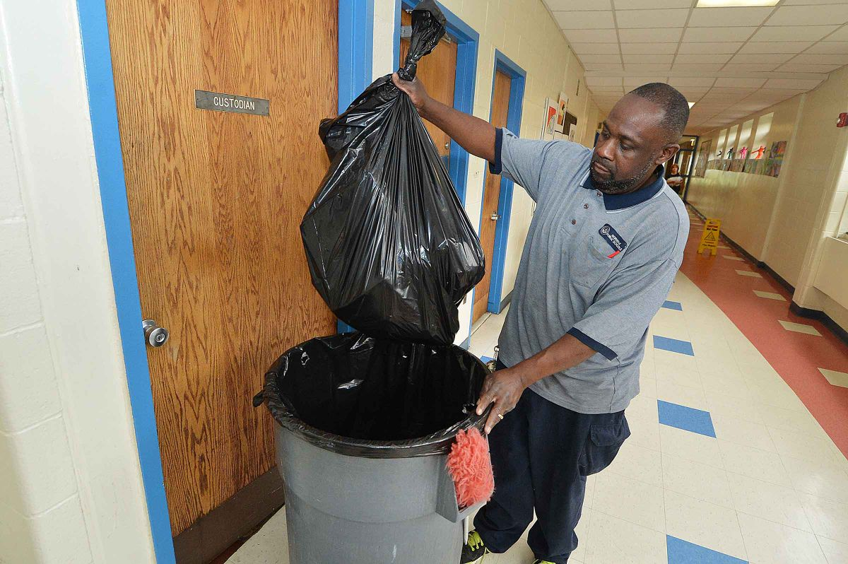 Custodians Cite Grievances With School District As Result Of Outsourcing The Hour