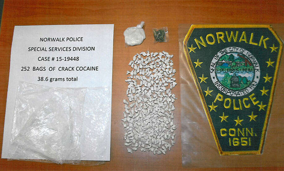 Contributed photoThe Norwalk Police Special Services Division seized these drugs during a raid Wednesday.