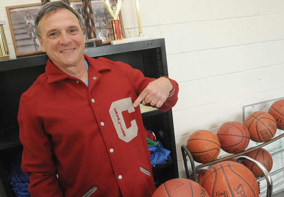 Bruce Gall, volunteer Athletic Director at All Saints School in Norwalk. Hour photo/Matthew Vinci