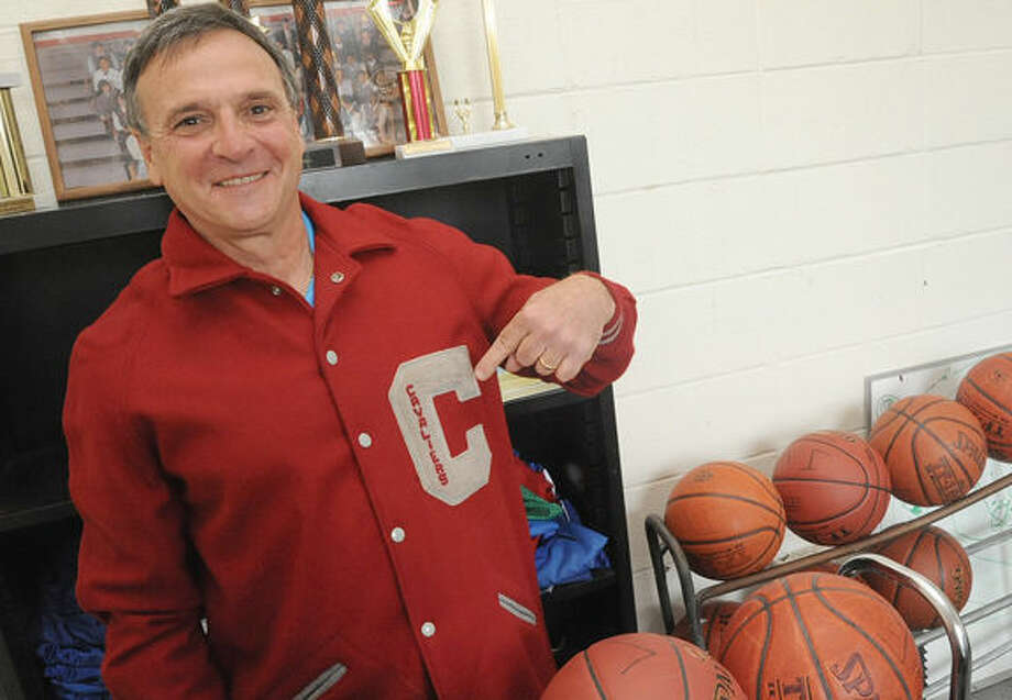 Bruce Gall, volunteer Athletic Director at All Saints School in Norwalk. Hour photo/Matthew Vinci