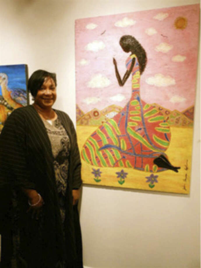 Contributed photoArtist Jo-Ann Thompson-Claybourne comes to the Norwalk Public Library on Saturday, May 24 at 3 p.m.