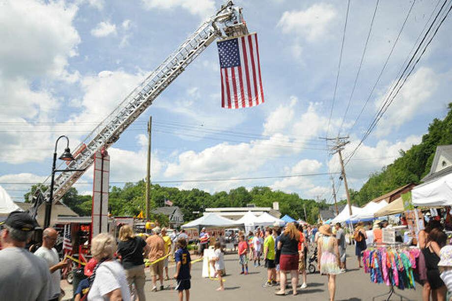 Sunday at the Georgetown Day celebration. Photo/Matthew Vinci
