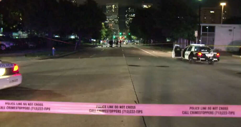 A woman thought to be homeless was run over and killed in Midtown around midnight Friday June 10, 2016, police said. Photo: Metro Video