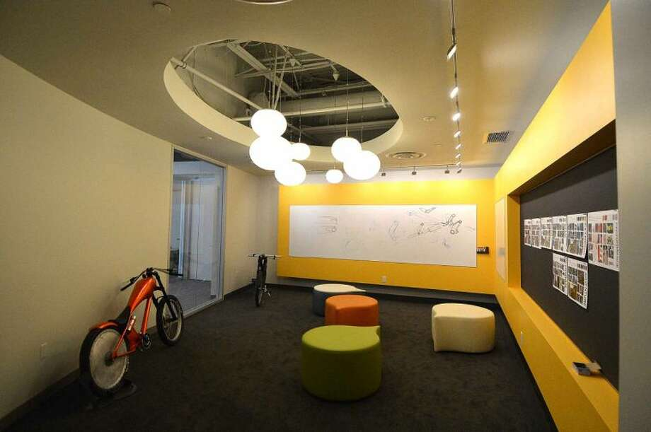 Hour Photo/Alex von Kleydorff A room for brainstorming new ideas at Cannondale in Wilton