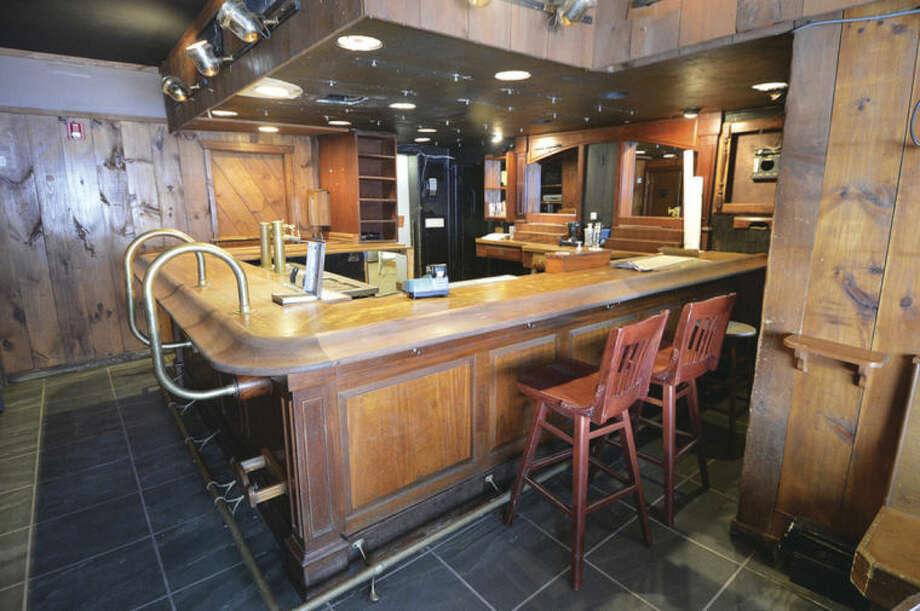 Hour Photo/Alex von Kleydorff The Bar area at The Georgetown Saloon in Redding
