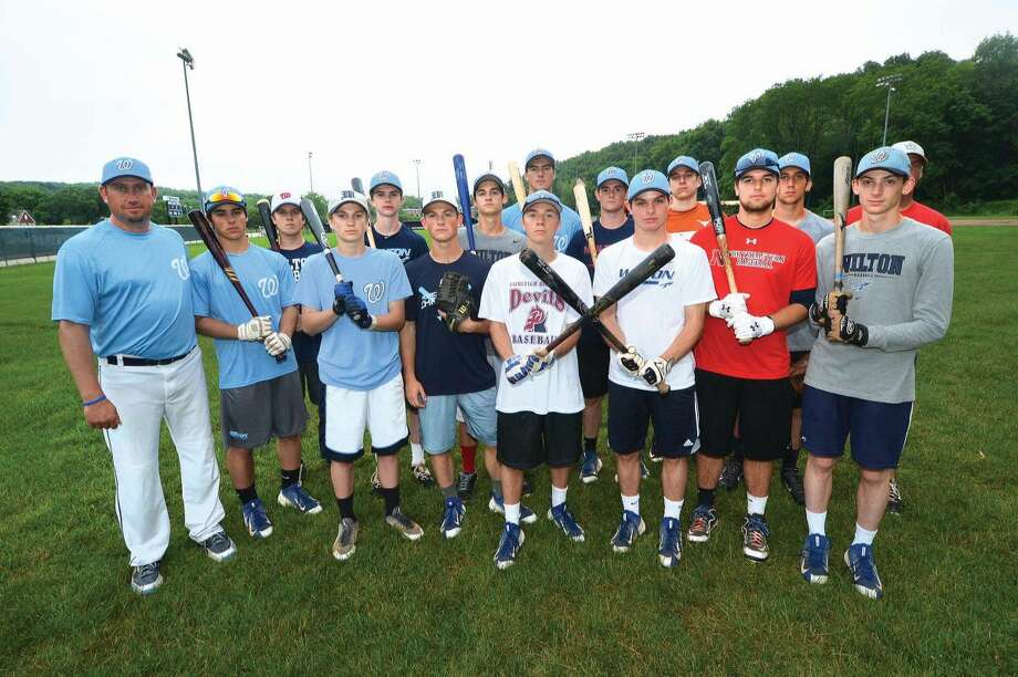 The Wilton American Legion Post 86 team is hoping to reach the State Tournament this summer. (Hour photo/Alex von Kleydorff)