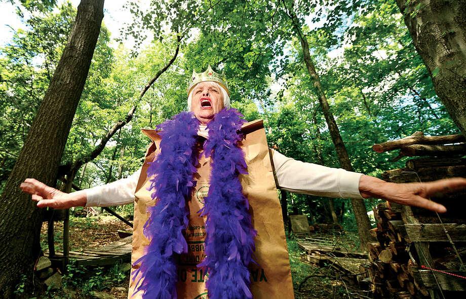 Renown eccentric and actress Darla Shaw.