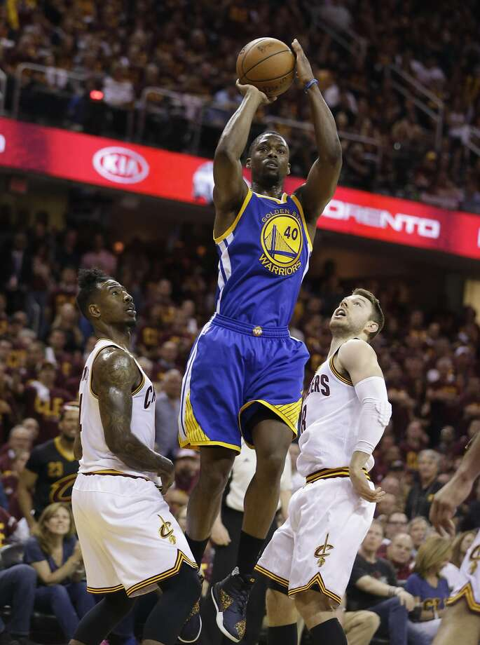 Golden State Warriors forward Harrison Barnes (40) drives against the Cleveland Cavaliers during the first half of Game 4 of basketball's NBA Finals in Cleveland, Friday, June 10, 2016. (AP Photo/Tony Dejak) Photo: Tony Dejak, Associated Press