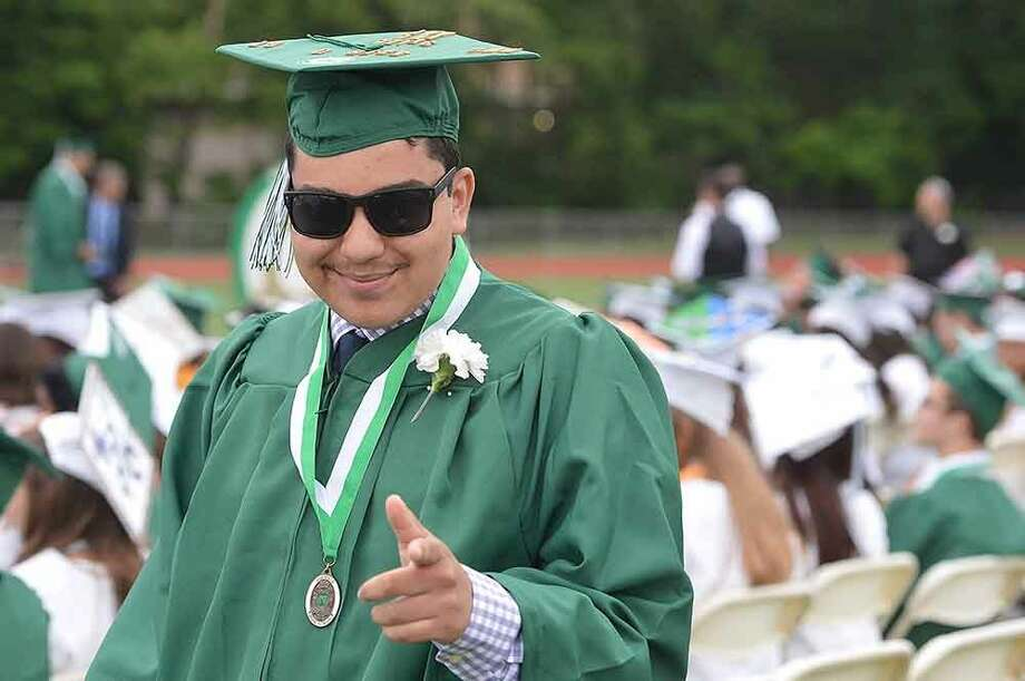 Hour Photo/Alex von Kleydorff Norwalk High School Class of 2015 Graduation