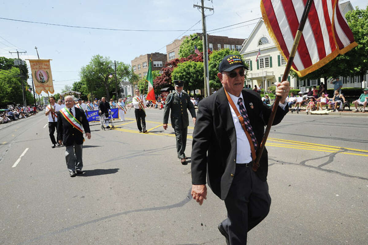 St. Ann's Club at the Norwalk Memorial Day Parade. Hour photo/Matthew Vinci