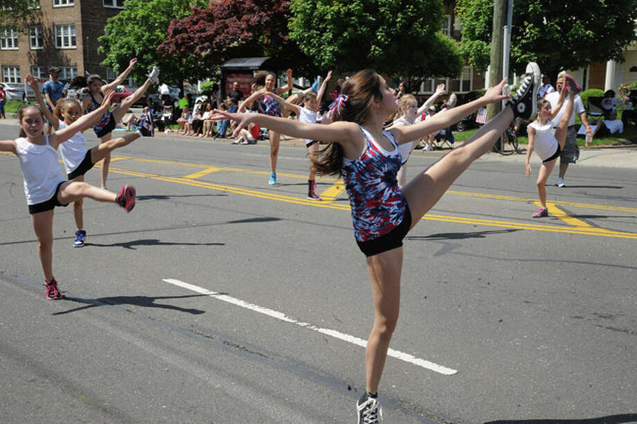 Norwalk Dance Academy at the Norwalk Memorial Day Parade. Hour photo/Matthew Vinci