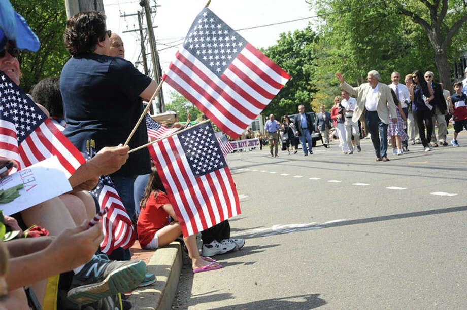 The Memorial Day Parade Monday in Norwalk. Hour photo Matthew Vinci