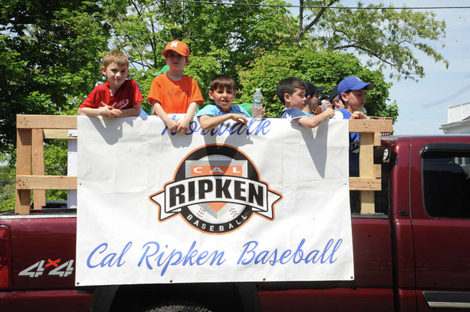 Norwalk Cal Ripkin at the Norwalk Memorial Day Parade. Hour photo/Matthew Vinci