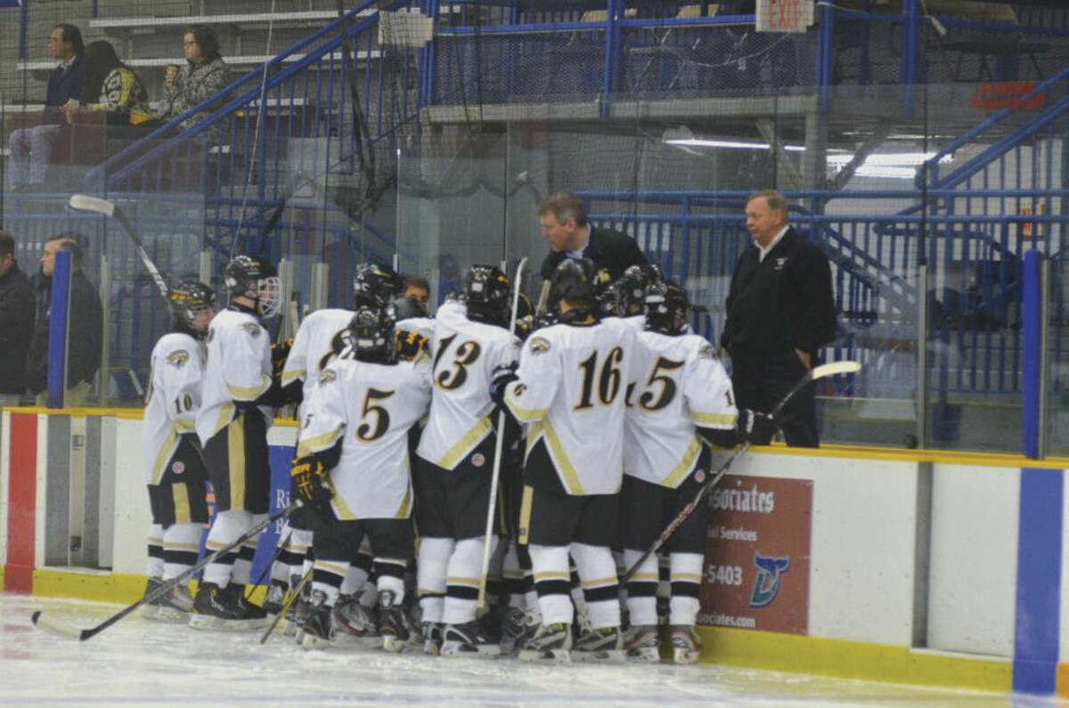 Contributed photo Pete Maxfield is taking over the Wilton girls hockey program. Maxfield was the boys ice hockey coach at Joel Barlow from 2005-2014.