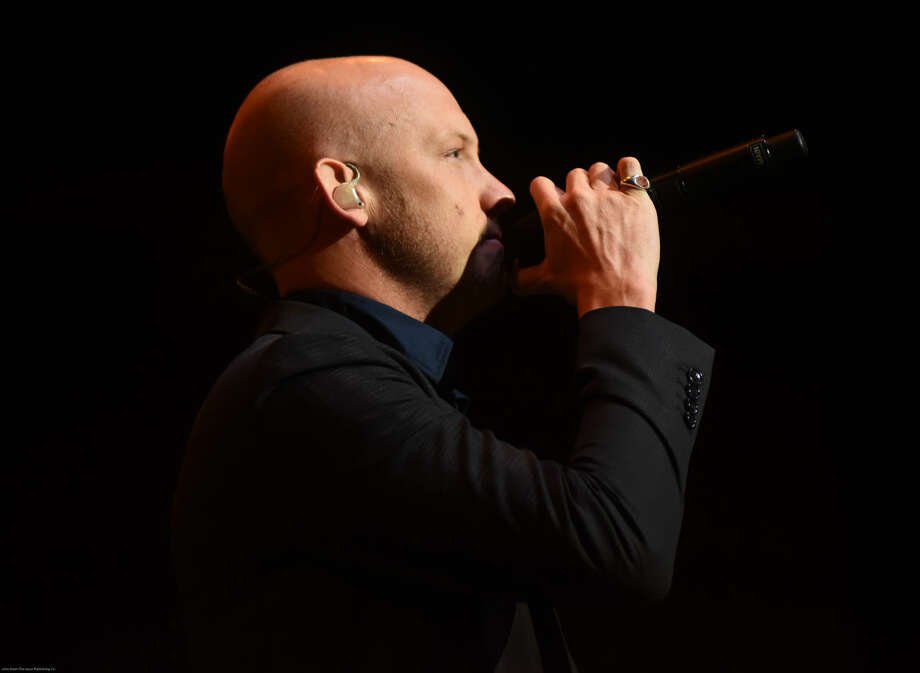 Hour photo/John Nash - The Fray played at Mohegan Sun Arena on Sunday night.