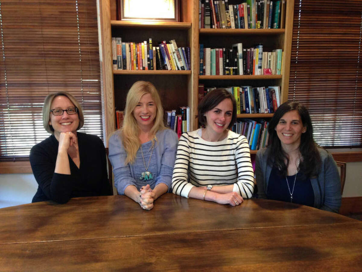 Contributed photo Local writers, from left to right, Ellyn Gelman, Marcelle Soviero, Daisy Alpert Florin and Aline Weiller will take part in the Westport Writers' Workshop event