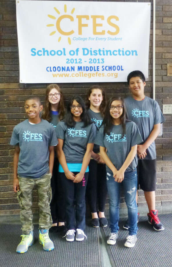 Pictured from left to right: Isan Spruill, Taran Duncan, Hoshahnia Kumaran, Emma Sawch, Riana Soliven and Jharif Rochabrun.