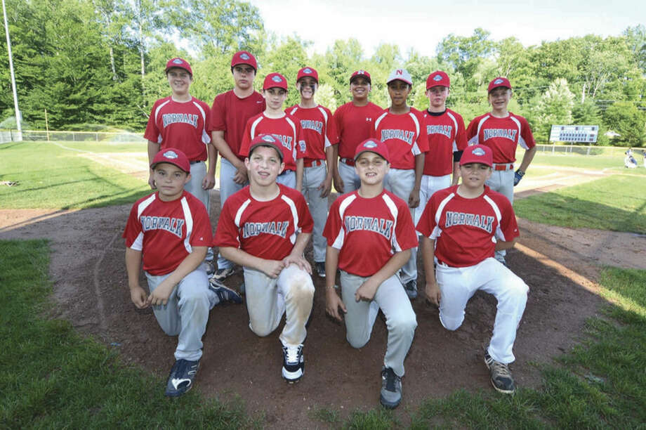 Hour photo/Alex von Kleydorff.The Norwalk Little League 12-year old All-Star team opens up District 1 tournament play on Saturday night against Stamford.